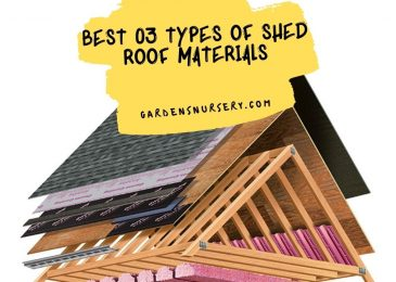 Best 03 Types of Shed Roof Materials