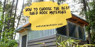 How to Choose the Best Shed Roof Materials