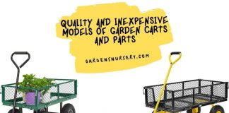 Quality and Inexpensive Models of Garden Carts and Parts