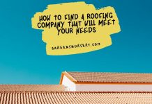 How To Find A Roofing Company That Will Meet Your Needs
