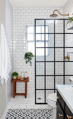 Small-Scale Bathroom Redesign