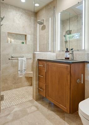 Tiny Bathroom Remodel In Portland, OR