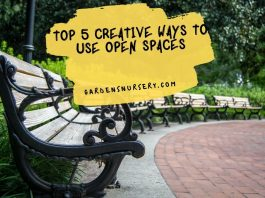 Top 5 Creative Ways To Use Open Spaces