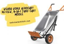 WG050 Worx Aerocart Review, 8-in-1 Yard Cart Model